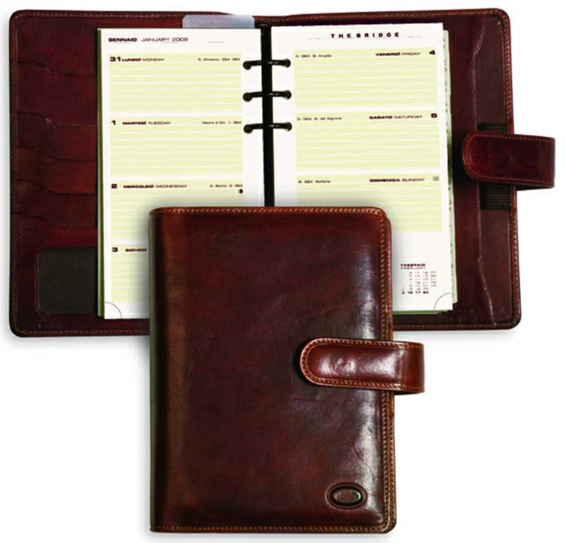 the bridge story uomo filofax 019118 14 marrone