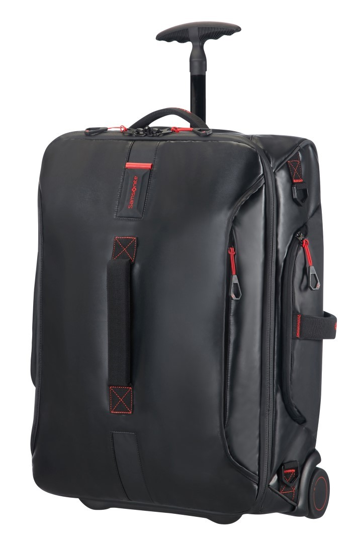 Samsonite Paradiver Light Duffle Wheels 55 Strict Cabin Black
