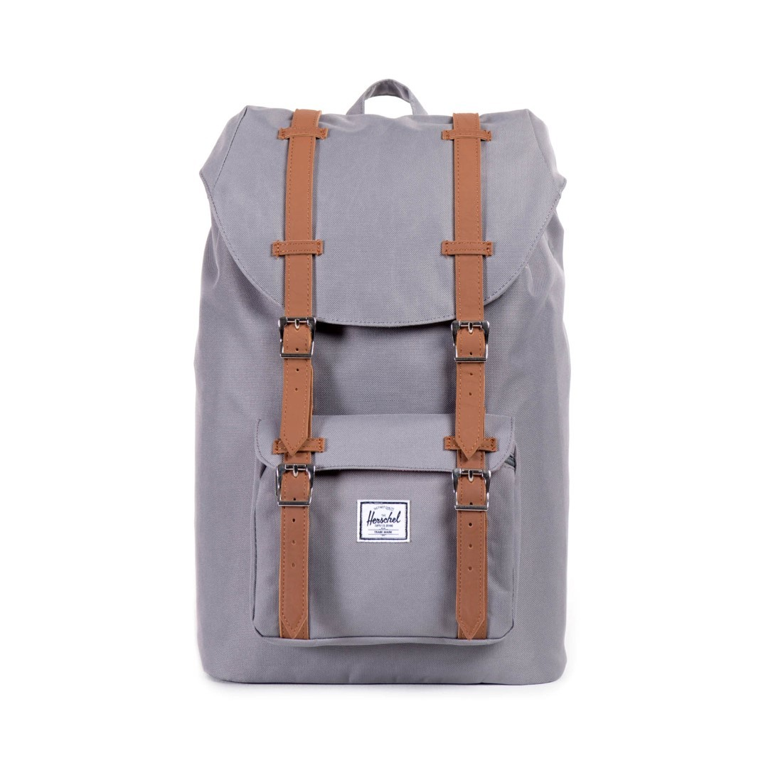 herschel supply little america mid 10020 00006 grey tan