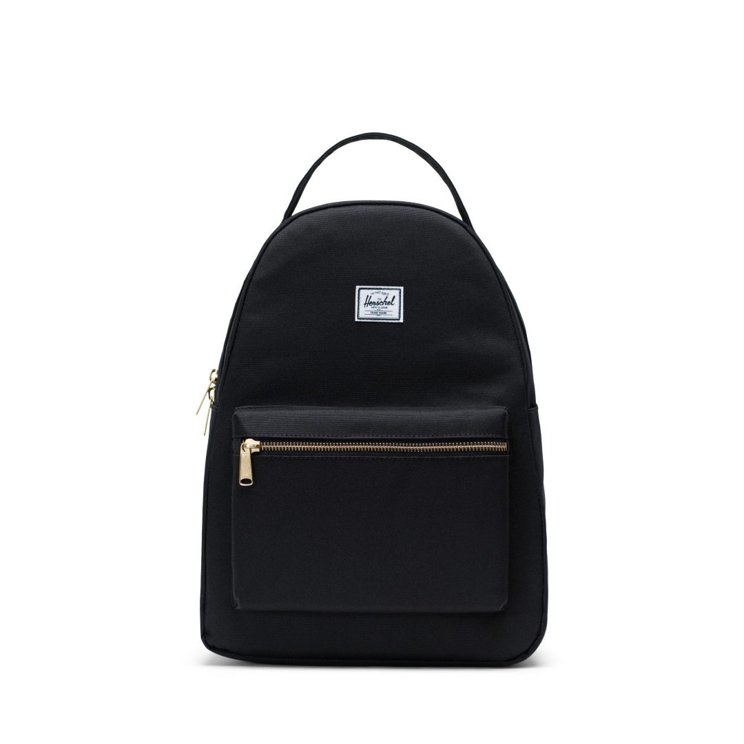 Herschel Supply Co.-Rugzakken-Nova Mid Volume-Zwart
