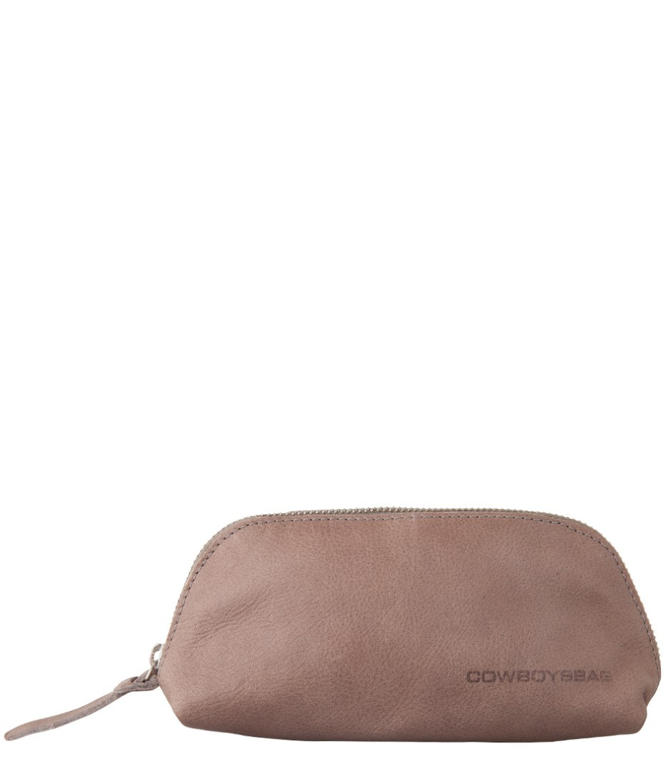 cowboysbag going steady pencil case halstead 1604 135 elephant grey