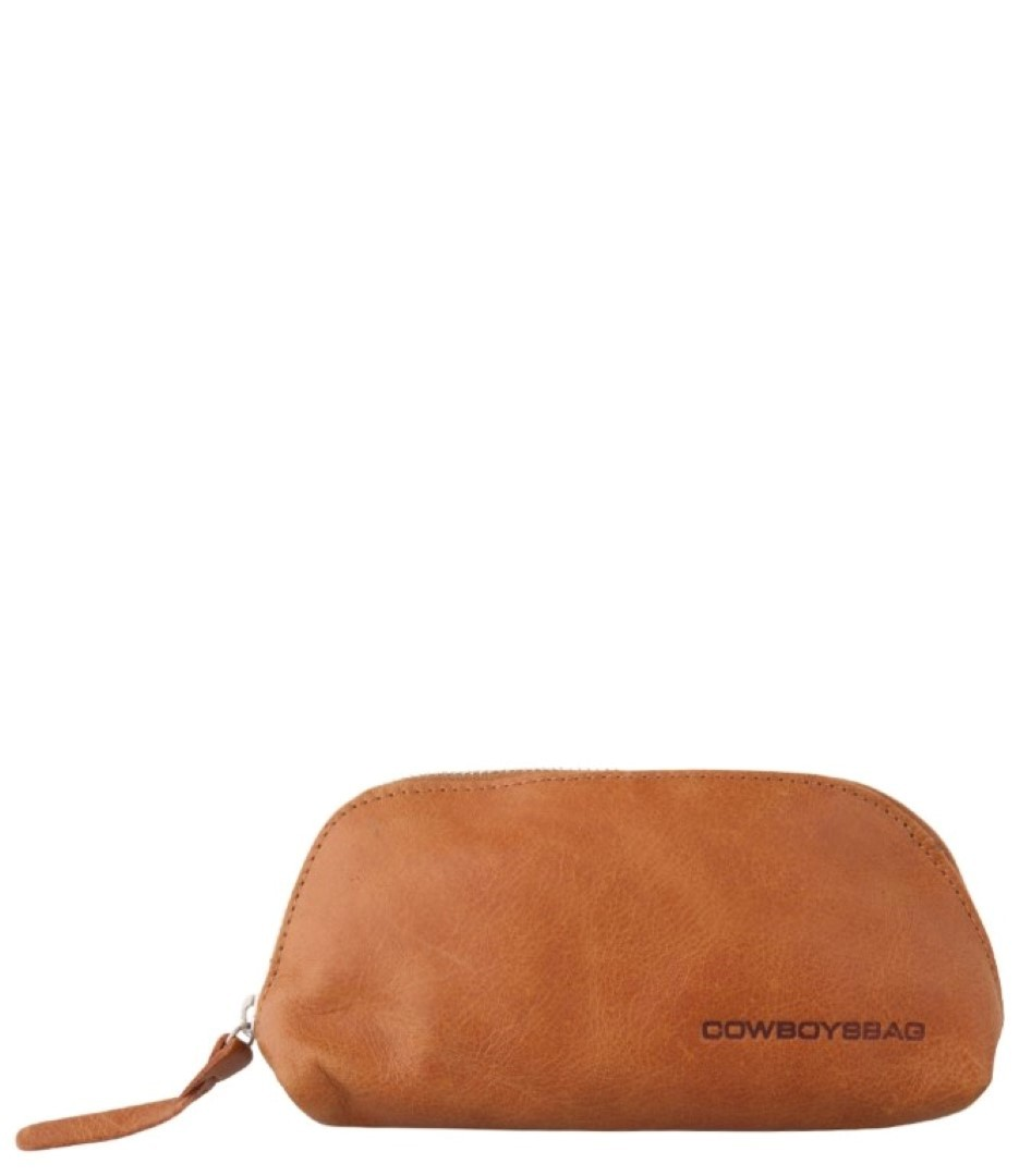 cowboysbag going steady pencil case halstead 1604 320 tobacco