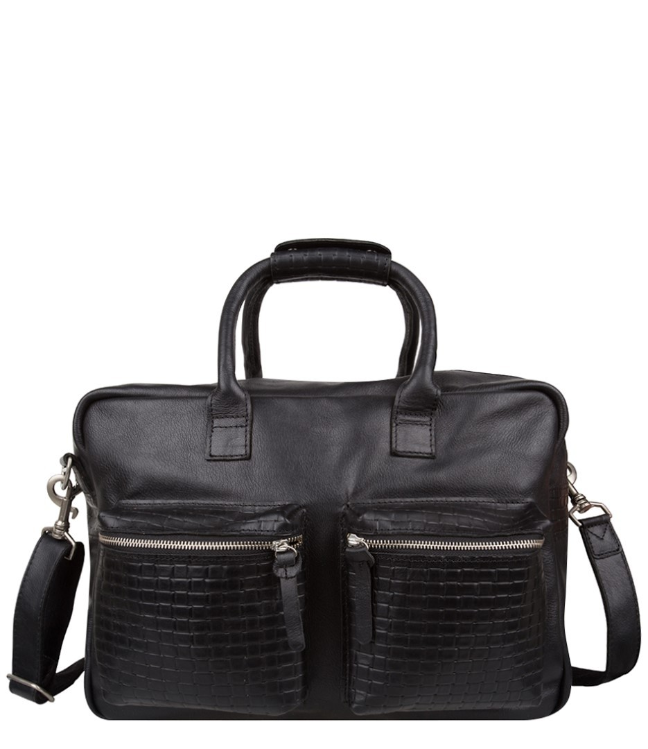 cowboysbag brick bag hamilton 1941 100 black