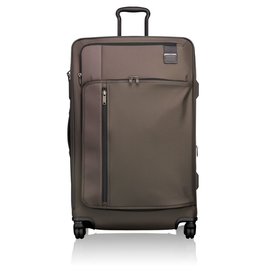 tumi merge ext trip exp pack case 2228669 coffee