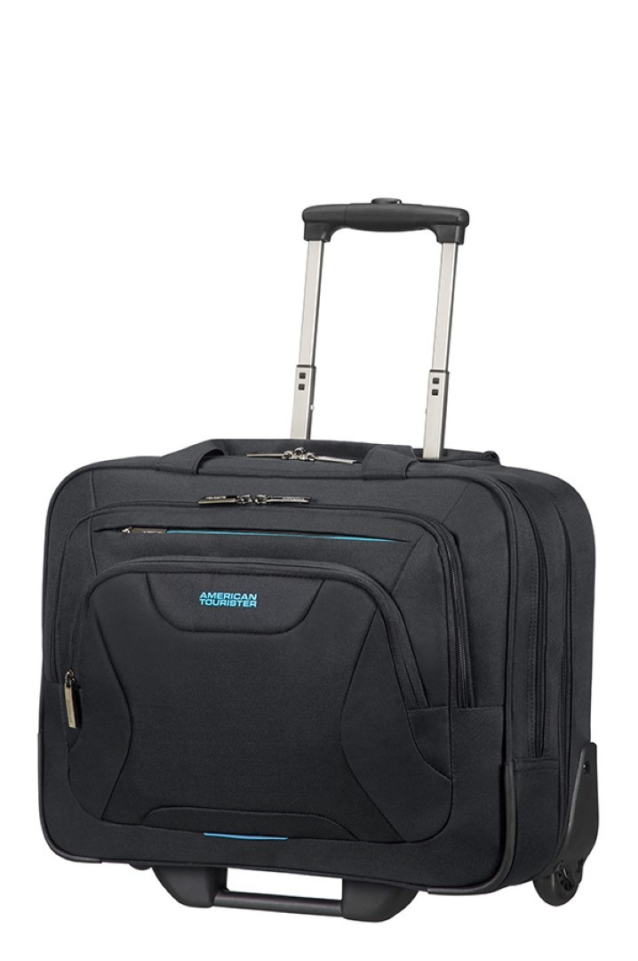 american tourister at work rolling tote 15 33g 006 09 black