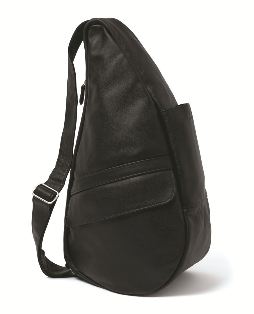 healthy back bag classic leather m 5104 black