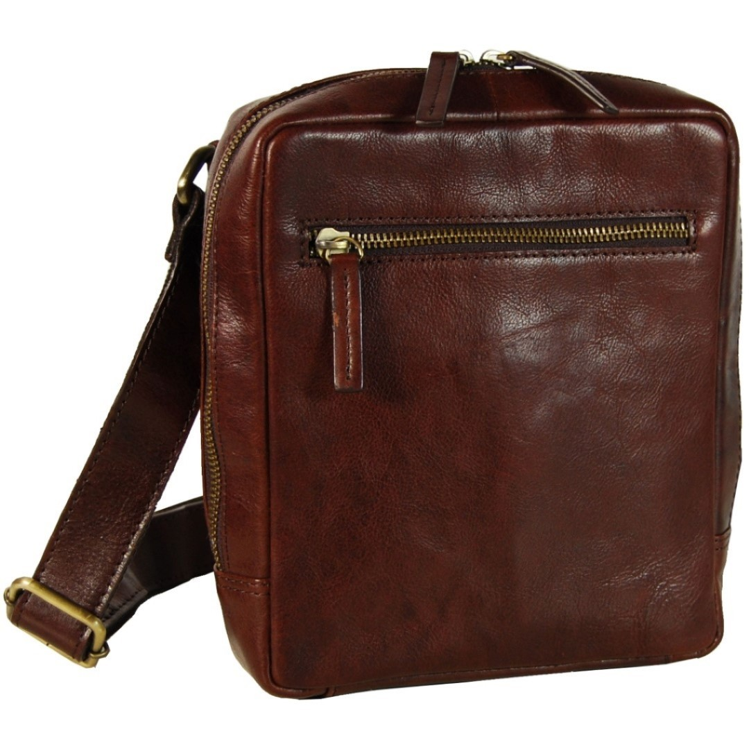 f702362a00d Leonhard Heyden cambridge messenger bag s Tassen > Casual tassen >  Messengerbag