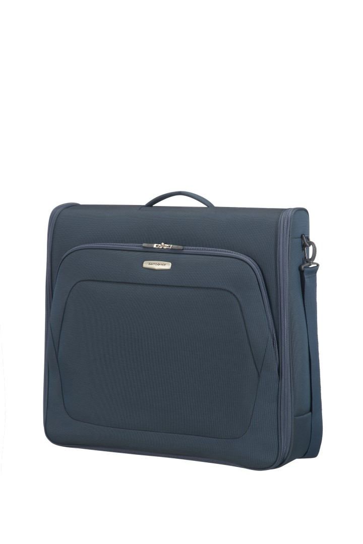 samsonite spark sng garment bag bi fold 65n 017 01 blue