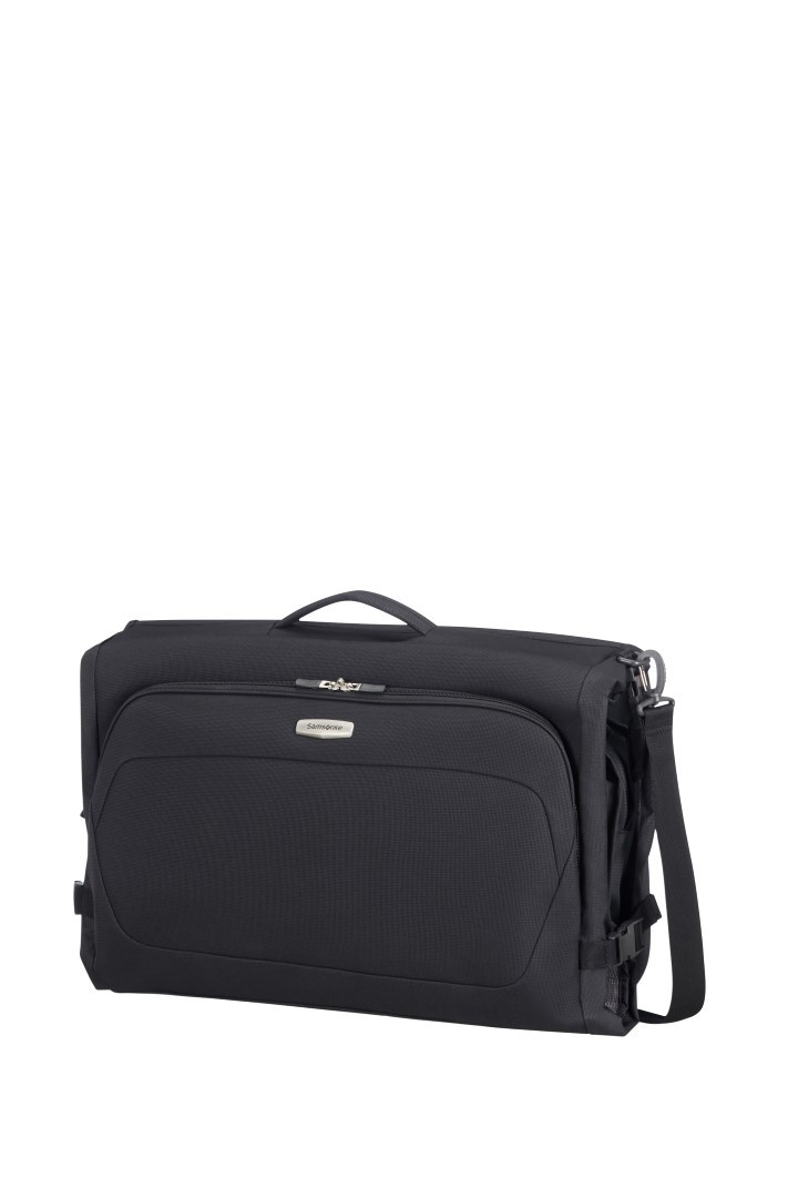 samsonite spark sng garment bag tri fold 65n 018 09 black