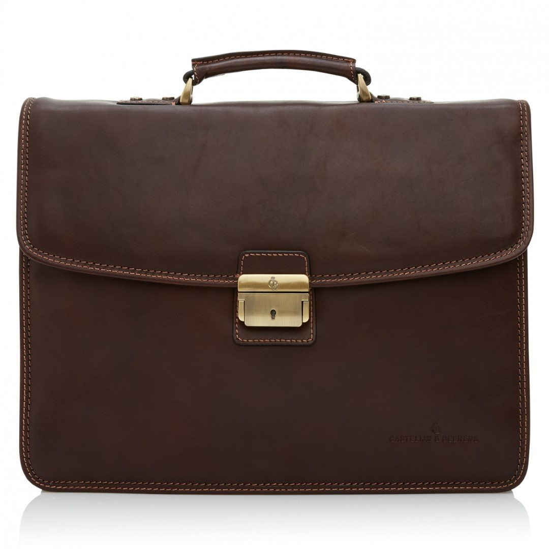 Castelijn en Beerens Verona Business Bag 9684 Mocca