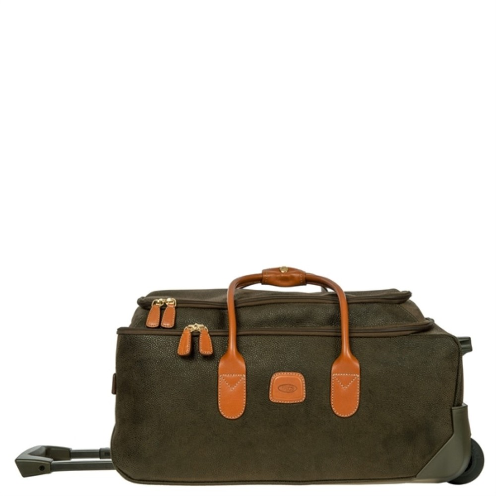 bric s life holdall wheels blf05220 278 olive tobacco