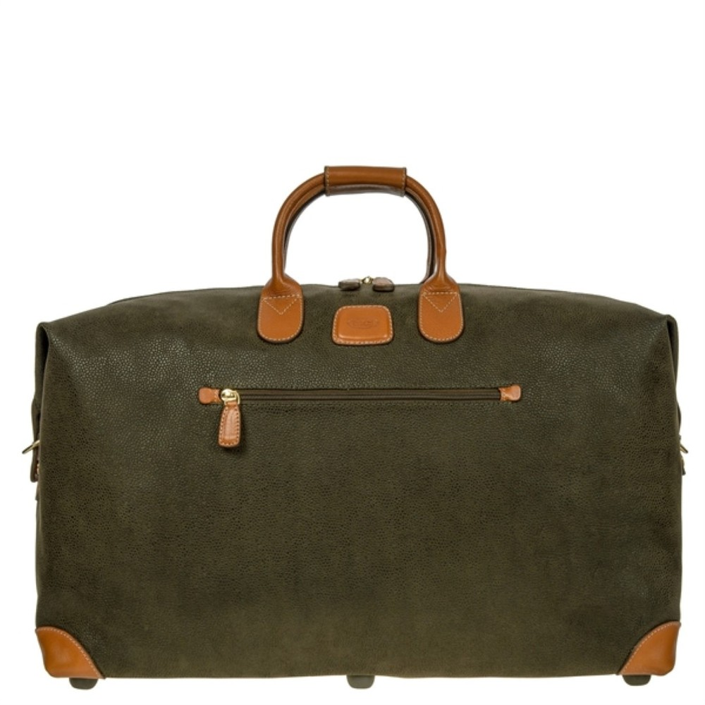 bric s life holdall m blf20202 378 olive tobacco