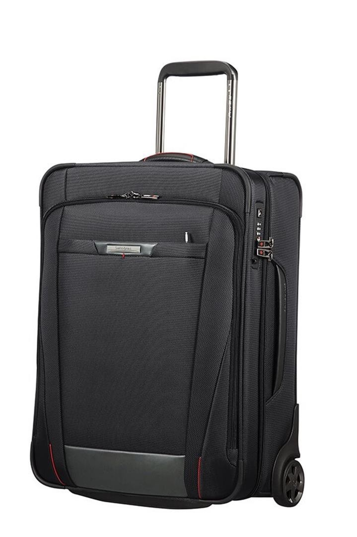 Samsonite Pro-DLX 5 Upright 55 Strict black Zachte koffer