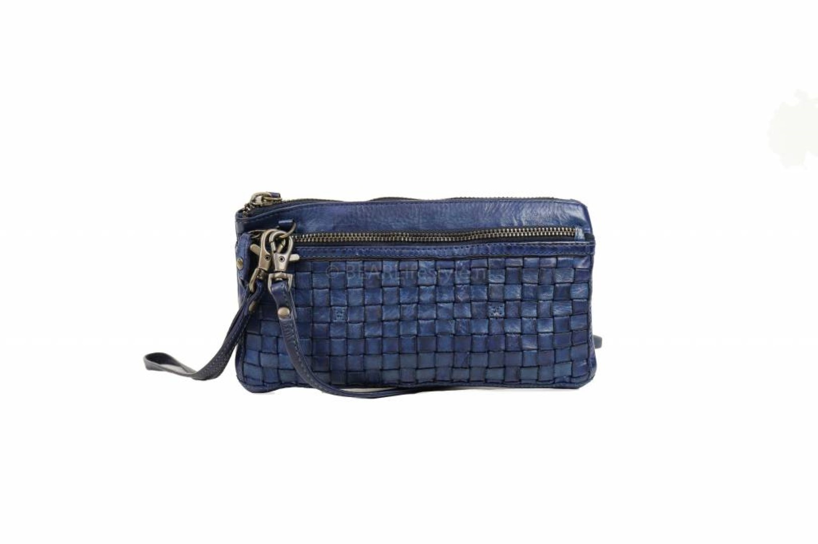 bear design cow lavato clutch cl13997 blue