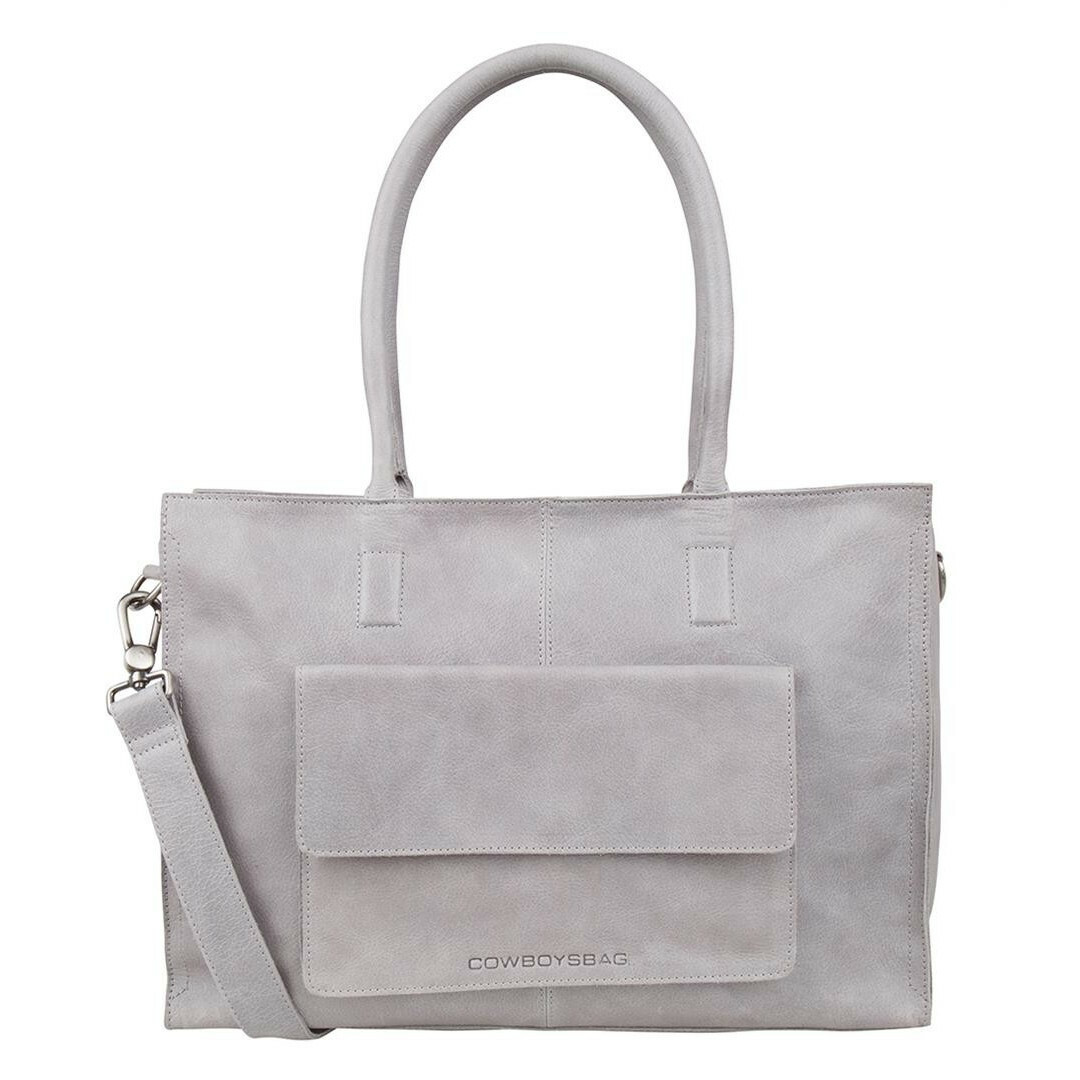 635016963af Cowboysbag CLEAN LINES DIAPER BAG Tortola, 2051 in de kleur 140 grey  8718586583429