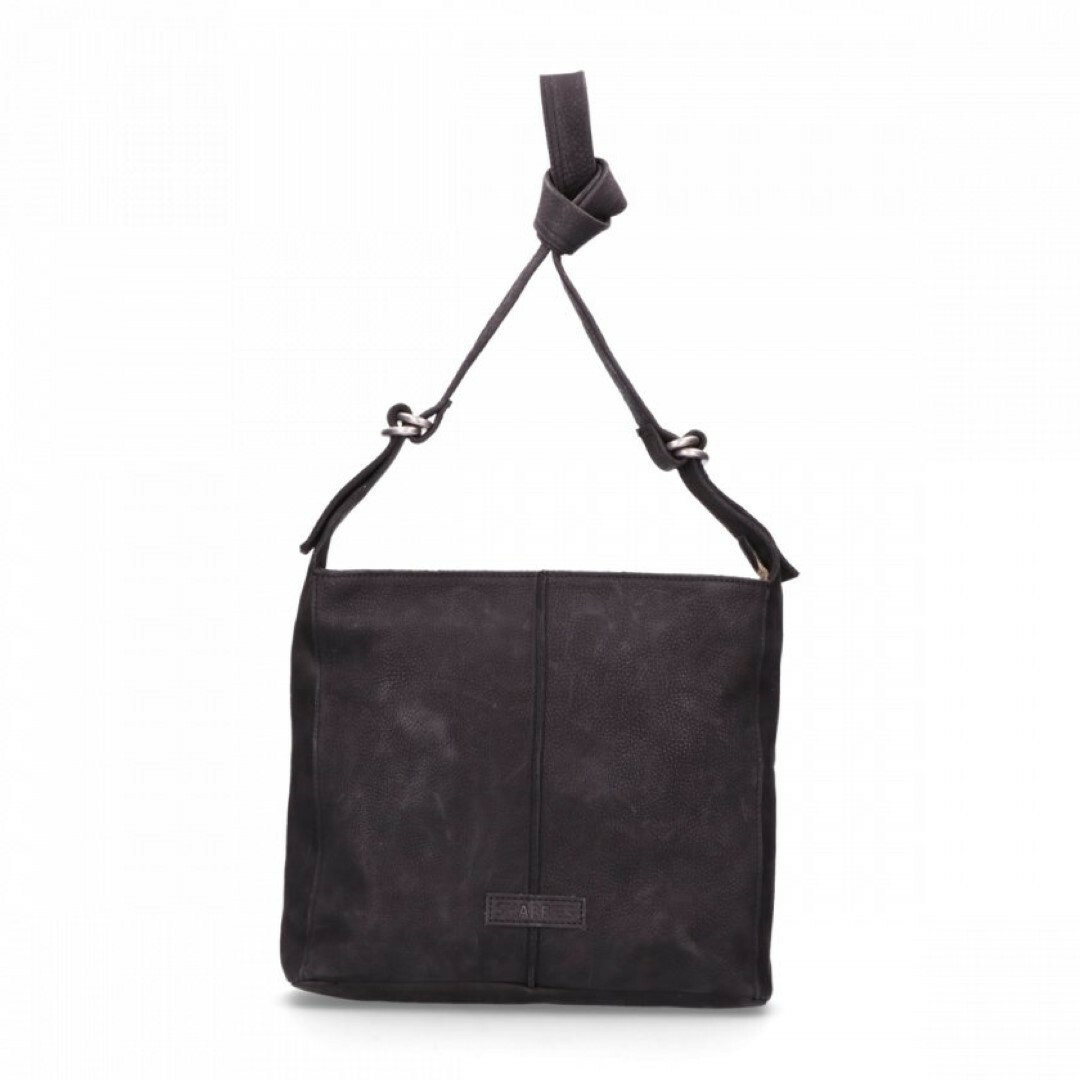 7de41be274f Fred Shabbies Amsterdam SHABBIES UTAH SHOULDERBAG MEDIUM, 232020007 in de  kleur 0001 black 8719637625068