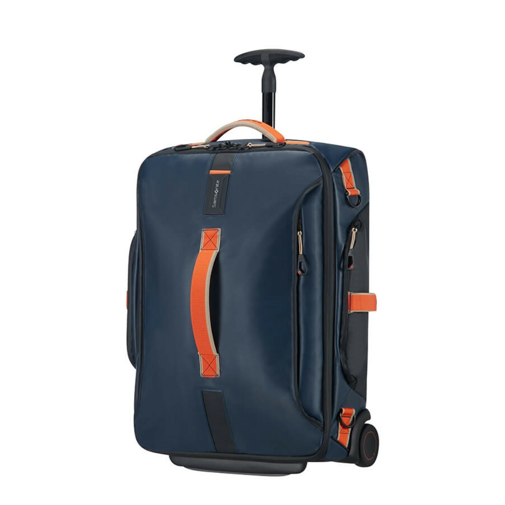 f70dc16c01a Samsonite PARADIVER LIGHT DUFFLE WHEELS 55, 01N-007 in de kleur 11 blue  nights