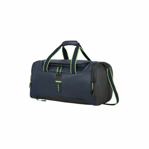 Samsonite PARADIVER LIGHT DUFFLE 51, 01N-005 in de kleur 31 night blue-fluo green 5400520027467