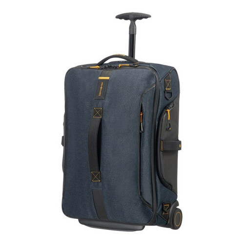 Samsonite PARADIVER LIGHT DUFFLE WHEELS 55, 01N-007 in de kleur 21 jeans blue 5414847670770