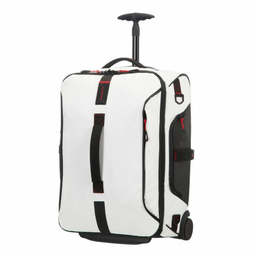 Samsonite PARADIVER LIGHT DUFFLE WHEELS 55 BACKPAC, 01N-008 in de kleur 05 white 5414847670831