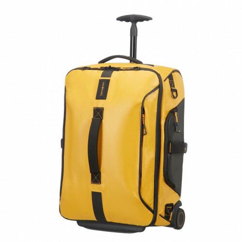 Samsonite PARADIVER LIGHT DUFFLE WHEELS 55 BACKPAC, 01N-008 in de kleur 06 yellow 5414847670848