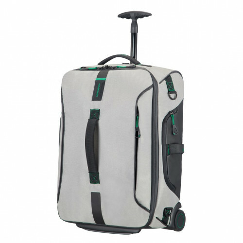 Samsonite PARADIVER LIGHT DUFFLE WHEELS 55 BACKPAC, 01N-008 in de kleur 28 jeans grey 5414847764226
