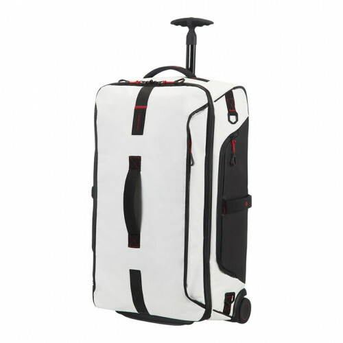 Samsonite PARADIVER LIGHT DUFFLE WHEELS 67, 01N-009 in de kleur 05 white 5414847670886
