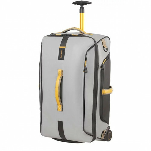 Samsonite PARADIVER LIGHT DUFFLE WHEELS 67, 01N-009 in de kleur 18 grey-yellow 5414847968631