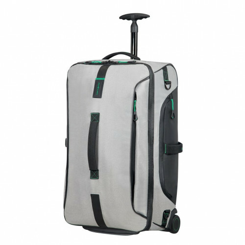 Samsonite PARADIVER LIGHT DUFFLE WHEELS 67, 01N-009 in de kleur 28 jeans grey 5414847764233