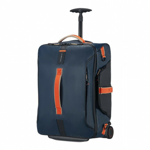 Samsonite PARADIVER LIGHT DUFFLE WHEELS 55 BACKPAC, 01N-008 in de kleur 11 blue nights 5414847865138