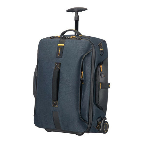 Samsonite PARADIVER LIGHT DUFFLE WHEELS 55 BACKPAC, 01N-008 in de kleur 21 jeans blue 5414847670824