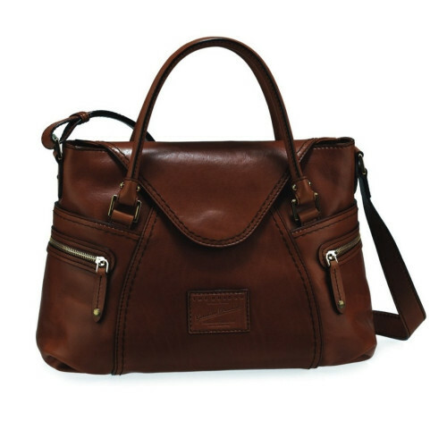 The Bridge ICONS LADIES HANDBAG, 046340 in de kleur 17 testa moro