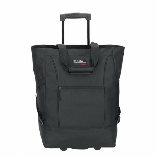 Sydney SIEBER POLYESTER FOLDING SHOPPER, 06980 in de kleur 0100 black
