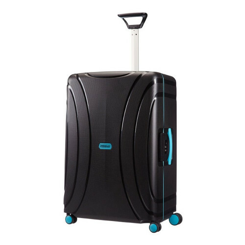 American Tourister LOCK'N ROLL SPINNER 69, 06G-001 in de kleur 09 night black 5414847609602