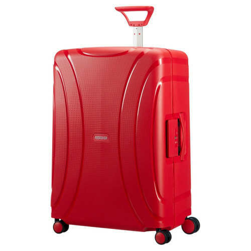 American Tourister LOCK'N ROLL SPINNER 69, 06G-001 in de kleur 10 formula red 5414847730153