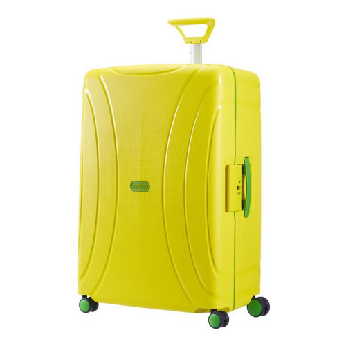 American Tourister LOCK'N ROLL SPINNER 75, 06G-002 in de kleur 06 sunshine yellow 5414847609688