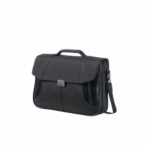 "Samsonite XBR BRIEFCASE 2C 15"", 08N-009 in de kleur 09 black 5414847680908"