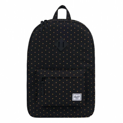 Herschel Supply CLASSICS HERITAGE, 10007 in de kleur 02097 black gridlock gold 828432207572