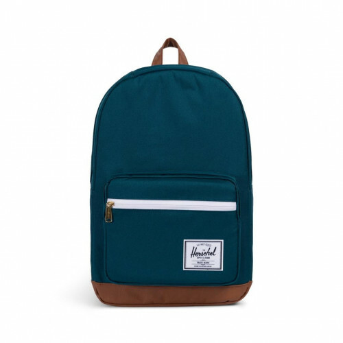 Herschel Supply CLASSICS POPQUIZ, 10011 in de kleur 02108 deep teal-tan 828432211715