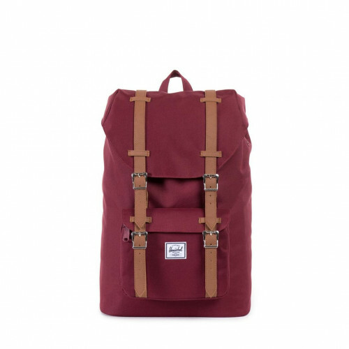 Herschel Supply CLASSICS LITTLE AMERICA MID, 10020 in de kleur 00746 windsor wine-tan 828432066599