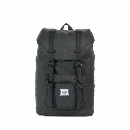 Herschel Supply CLASSICS LITTLE AMERICA MID, 10020 in de kleur 02093 black crosshatch 828432210879