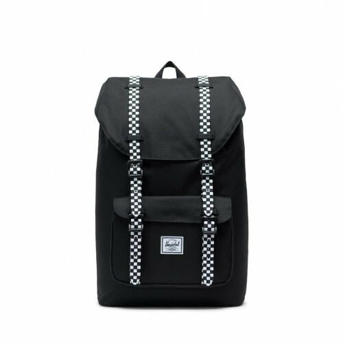 Herschel Supply CLASSICS LITTLE AMERICA MID, 10020 in de kleur 02463 black-checkerboard 828432245352