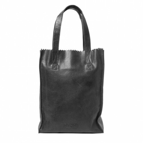 MYOMY MY PAPER BAG LONG HANDLE ZIP, 1027 in de kleur rambler black 8719075370735