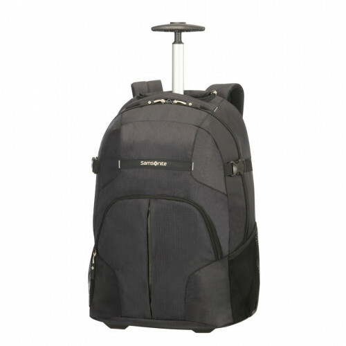 Samsonite REWIND LAPTOP BACKPACK-WHEELS, 10N-007 in de kleur 09 black 5414847681608