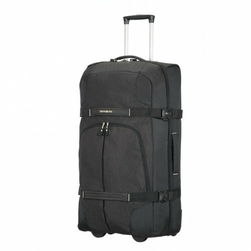 Samsonite REWIND DUFFLE-WHEELS 82, 10N-009 in de kleur 09 black 5414847681684