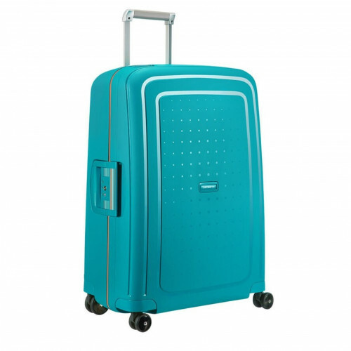 Samsonite S'CURE SPINNER 69, 10U-001 in de kleur 62 carib.blue-vibr.orange 5414847854989