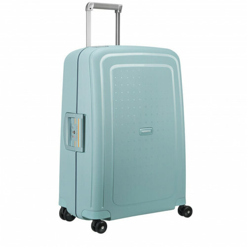 Samsonite S'CURE SPINNER 69, 10U-001 in de kleur 72 stone blue-navy blue 5414847854996