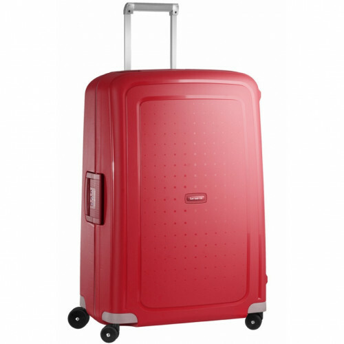 Samsonite S'CURE SPINNER 75, 10U-002 in de kleur 10 crimson red 5414847326547
