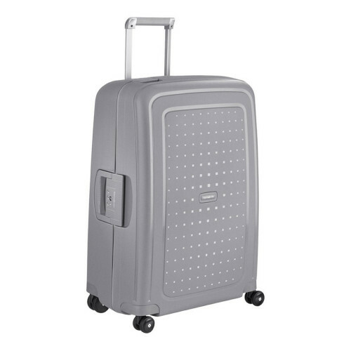 Samsonite S'CURE SPINNER 75, 10U-002 in de kleur 25 silver 5414847590221