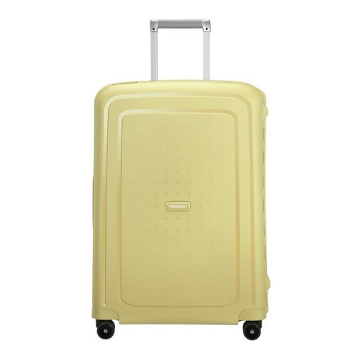 Samsonite S'CURE SPINNER 75, 10U-002 in de kleur 46 pastel yellow stripes 5414847963711
